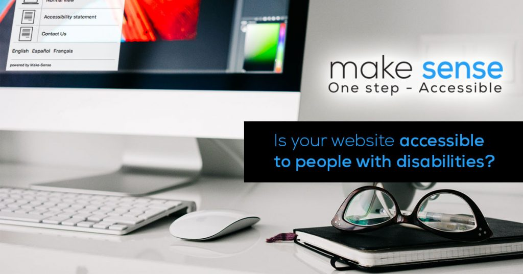 Is your website accessible to people with disabilities?